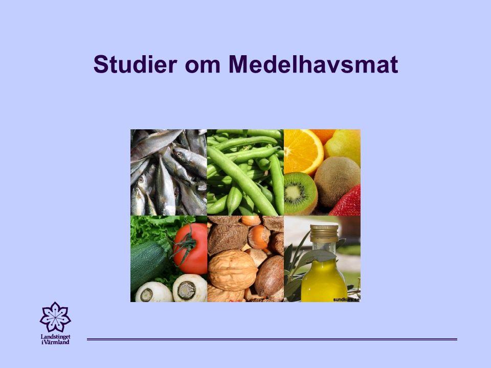 Studier om Medelhavsmat