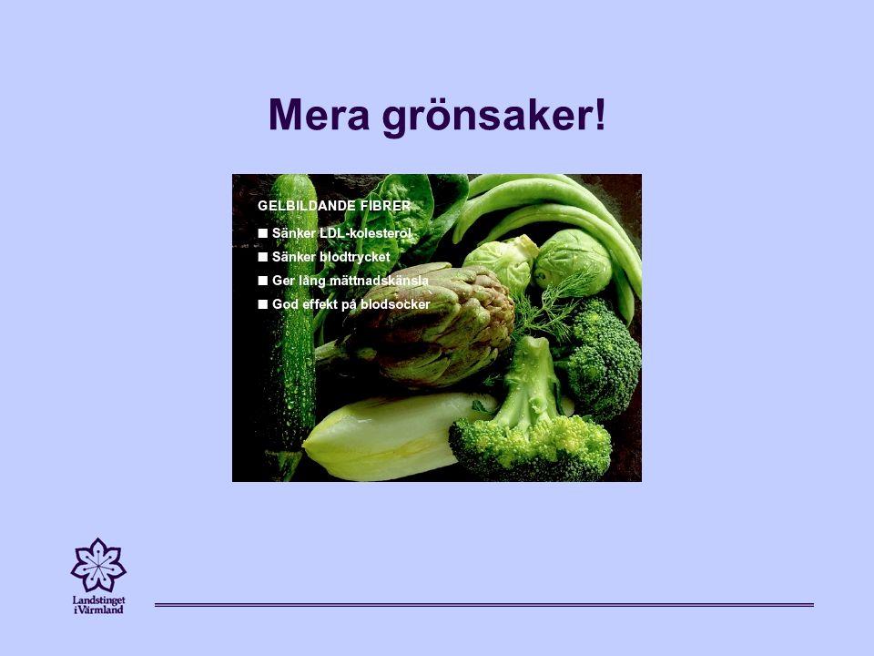 Mera grönsaker!