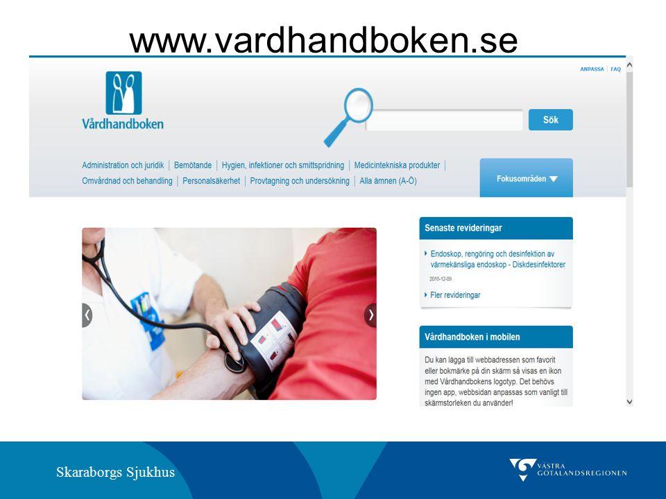 Skaraborgs Sjukhus www.vardhandboken.se