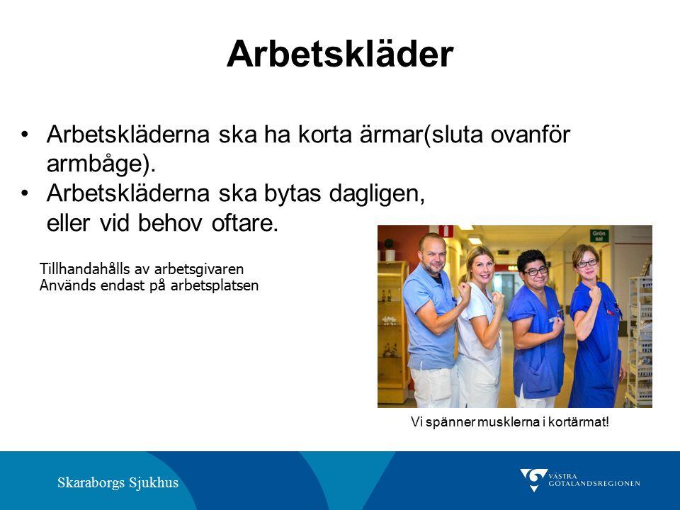 Skaraborgs Sjukhus Naglar Kortklippta Inget nagellack Inga lösnaglar