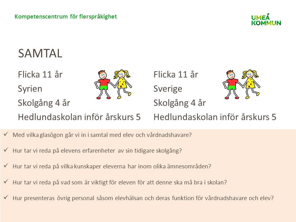 Kompetenscentrum för flerspråkighet Vad krävs för att skapa ett interkulturellt förhållningssätt på alla nivåer och funktioner i förskolan och skolan.