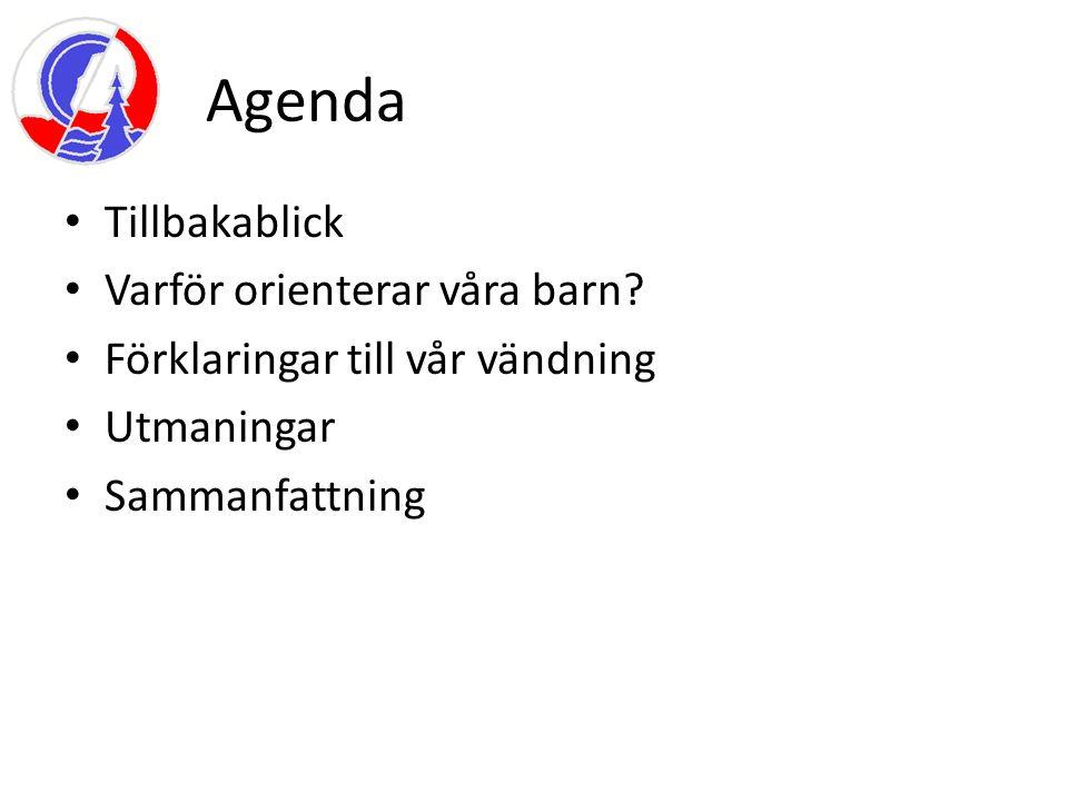 Ungdomsverksamhet i modern form började i Skogsluffarnas OK 2007 Med Anders Tegeström som ungdomsledare Sommarläger våren 2007