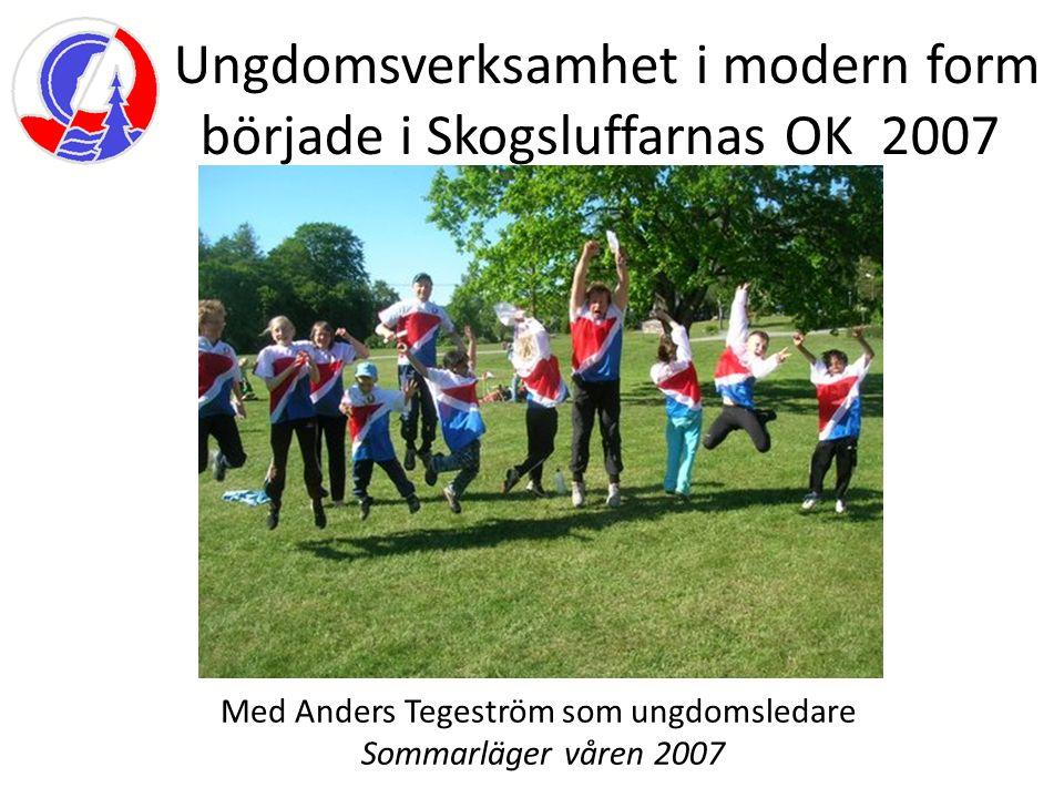 Anders jobbade till 110% och involverade skolor i närområdet En Idrotts dag med Skarpa by skolan