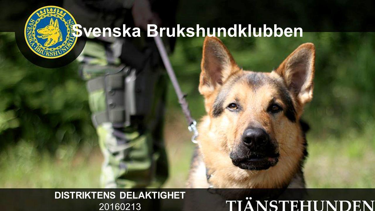 Svenska Brukshundklubben DISTRIKTENS DELAKTIGHET 20160213