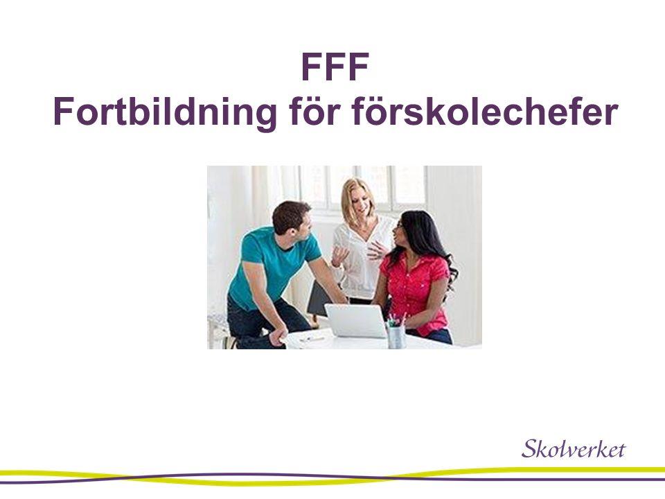 FFF Fortbildning för förskolechefer
