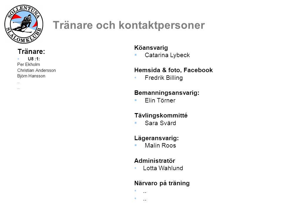 Information från styrelsen  Vår vision.