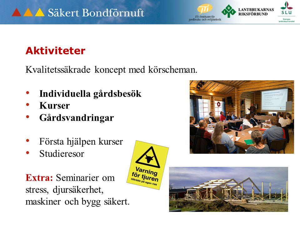 Nöjda blir vi inte förrän det är noll olyckor - även i skogsbruket Anders Danielson Projektledare 0