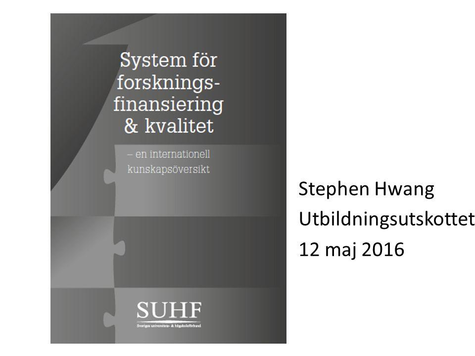 Basfinansiering % Steen, J.v.