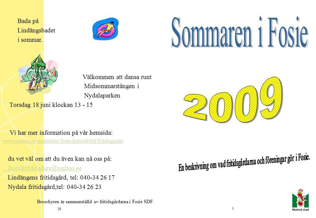 Bada på Lindängsbadet i sommar.