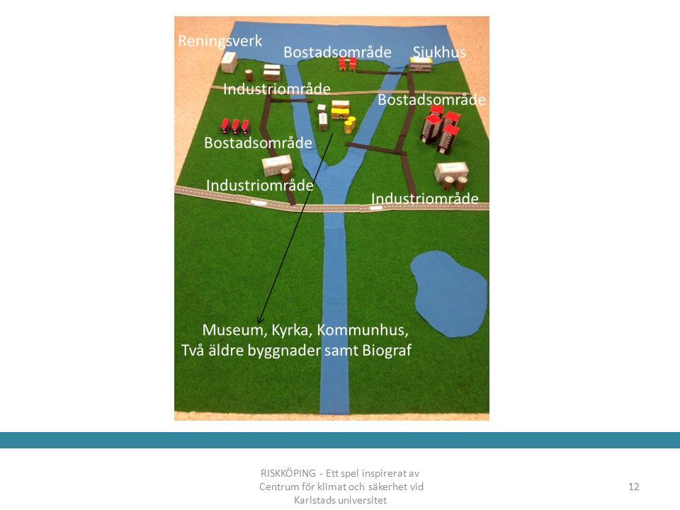 RISKKÖPING - Ett spel inspirerat av Centrum för klimat och säkerhet vid Karlstads universitet 12