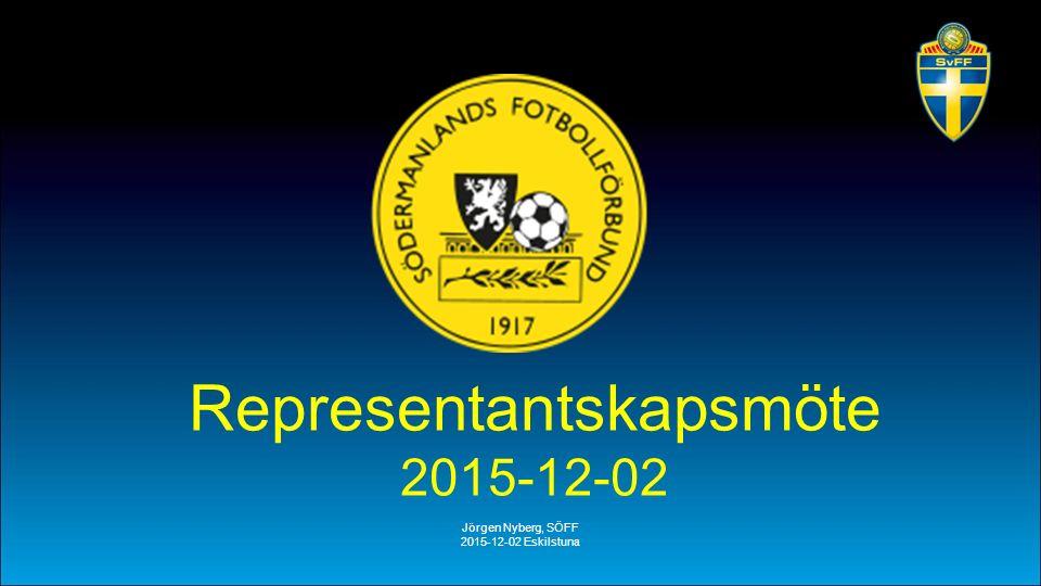 Jörgen Nyberg, SÖFF 2015-12-02 Eskilstuna Representantskapsmöte 2015-12-02