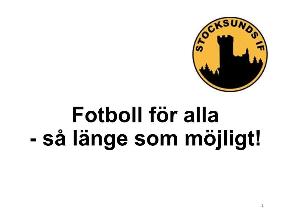 Fotboll för alla - så länge som möjligt! 1