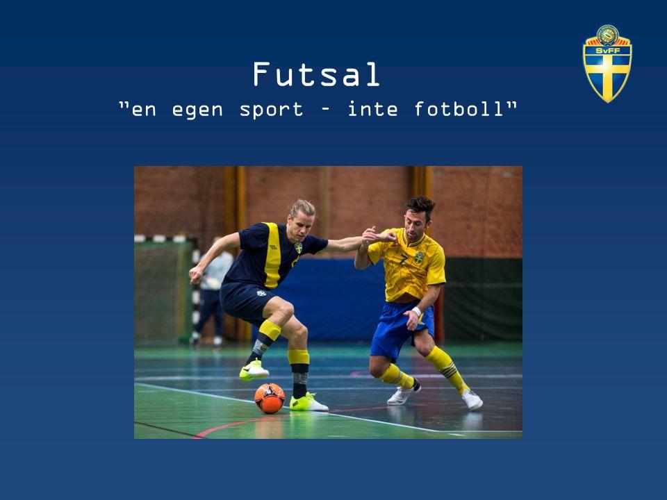 Futsal en egen sport – inte fotboll