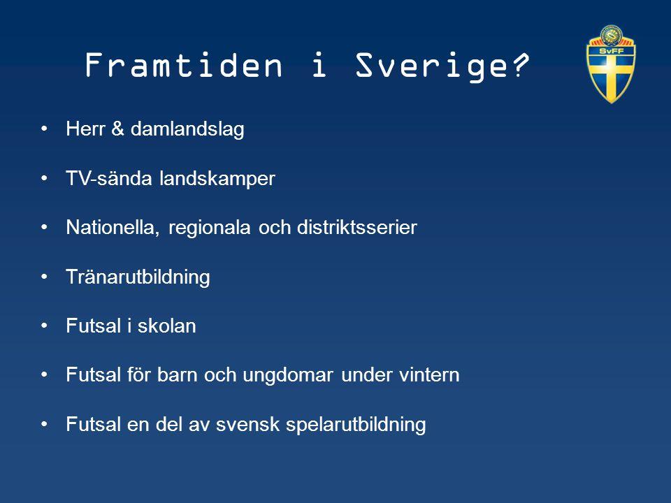 Framtiden i Sverige.
