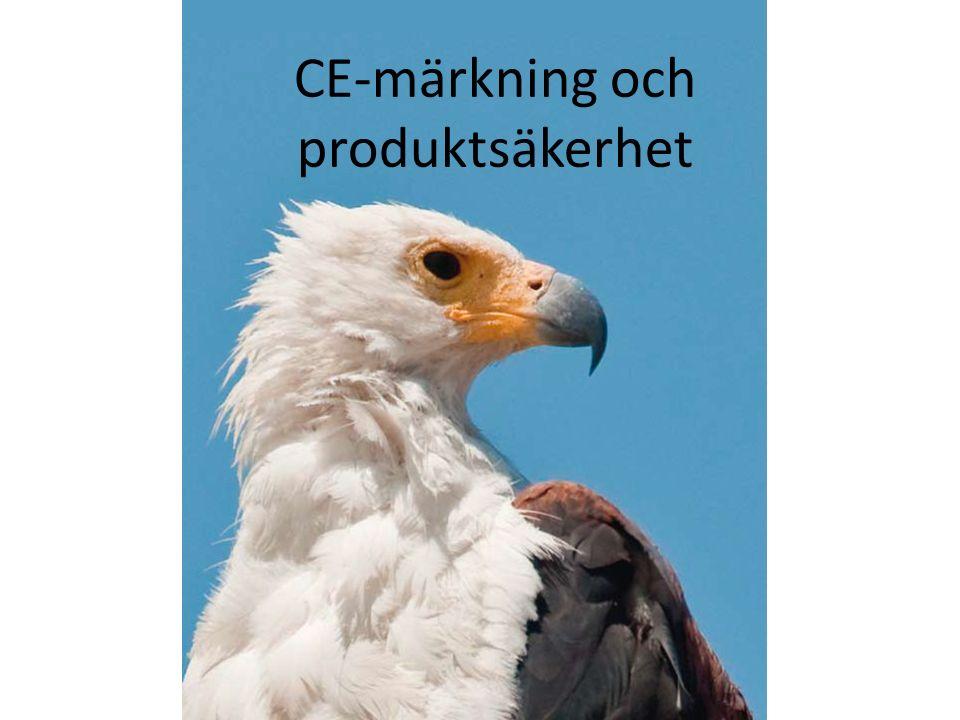 CE-märkning och produktsäkerhet