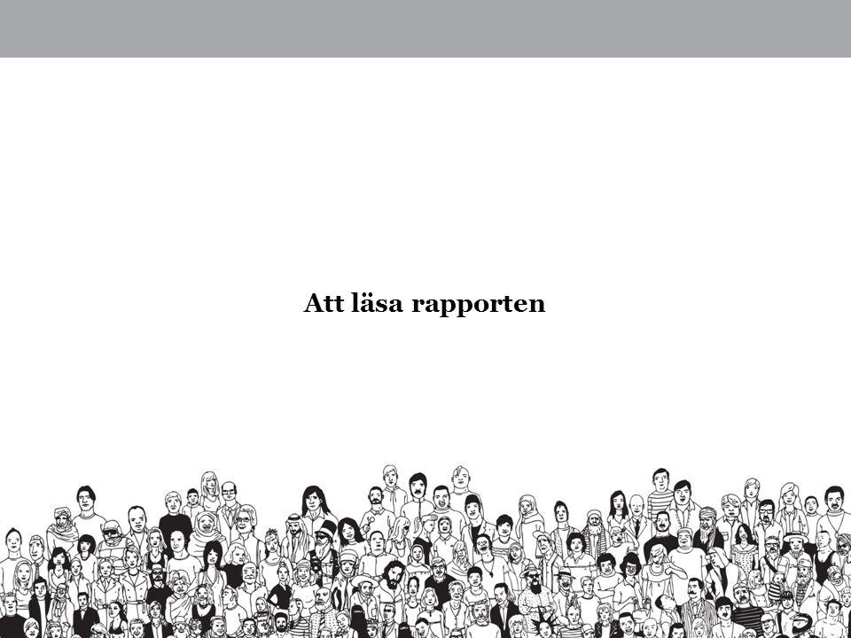 Att läsa rapporten