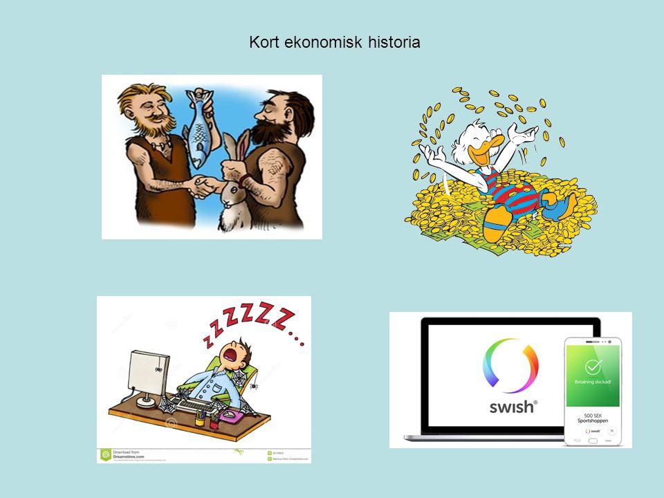 Kort ekonomisk historia