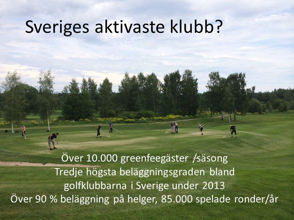 Sveriges aktivaste klubb.
