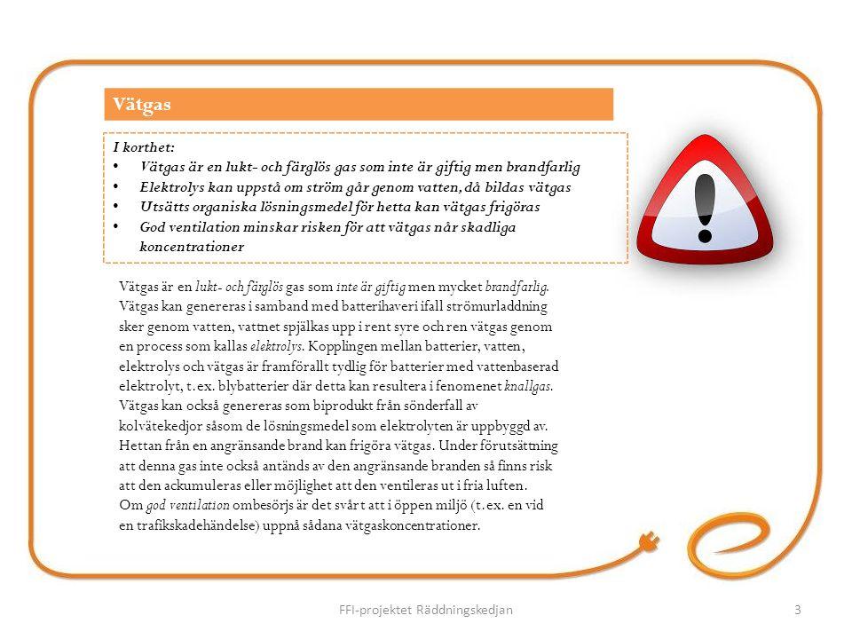 Vätgas är en lukt- och färglös gas som inte är giftig men mycket brandfarlig.