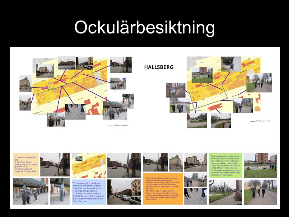 Vad jobbar Art Kod med? Offentlig konst och gestaltning Aktivering av platser Medborgardialog