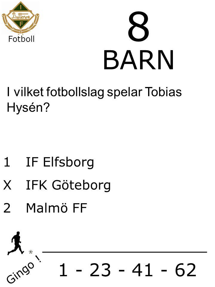 1IF Elfsborg X IFK Göteborg 2 Malmö FF Gingo .