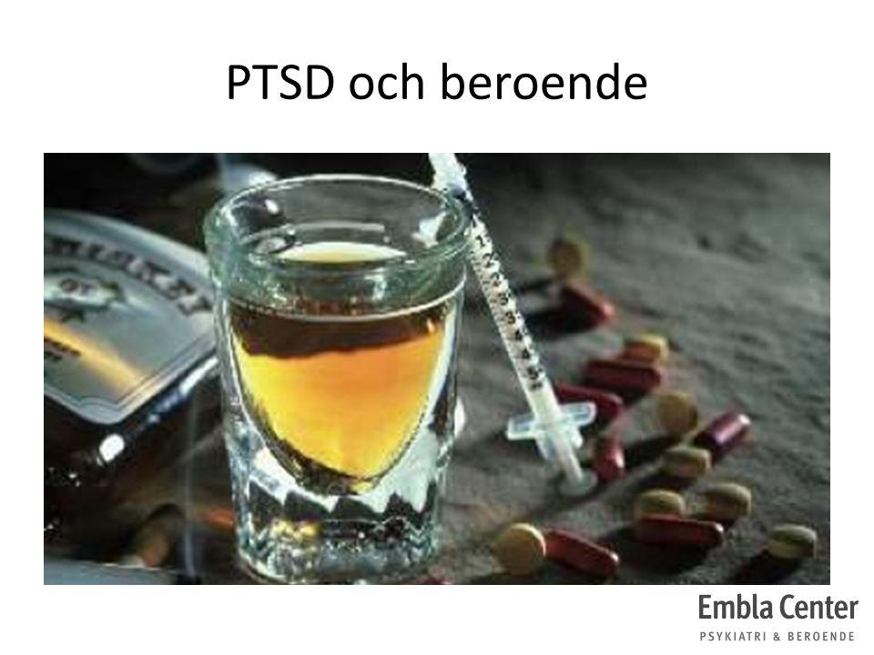 PTSD och beroende