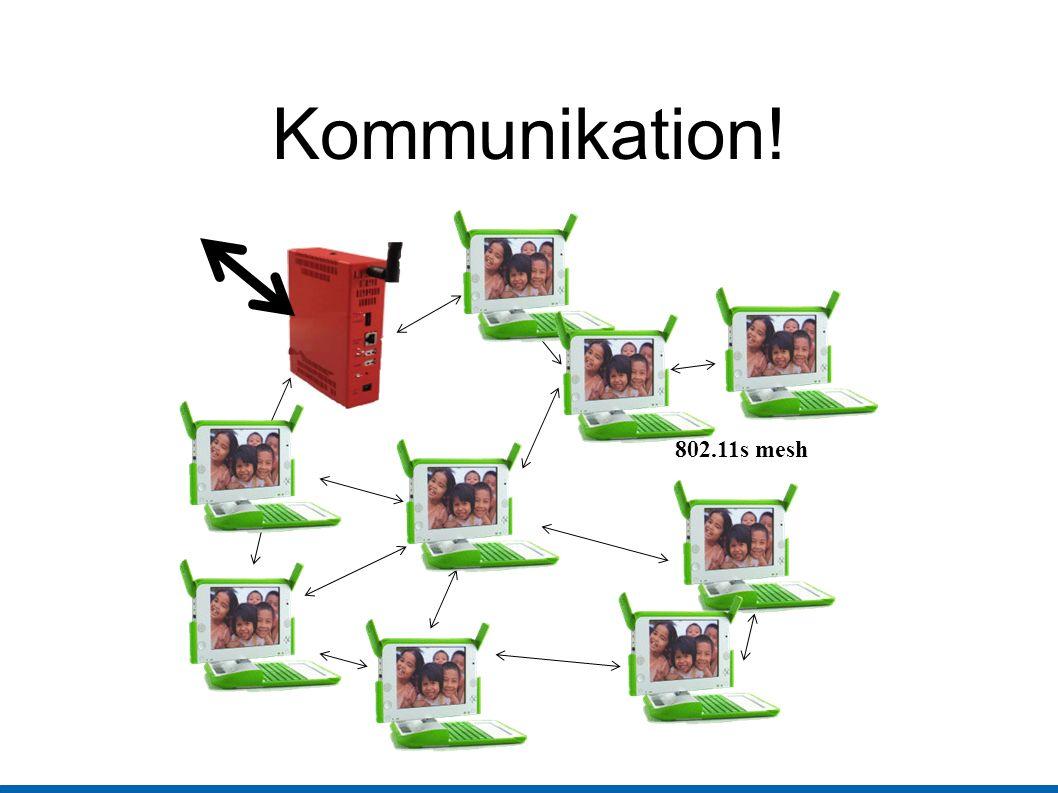 Kommunikation! 802.11s mesh