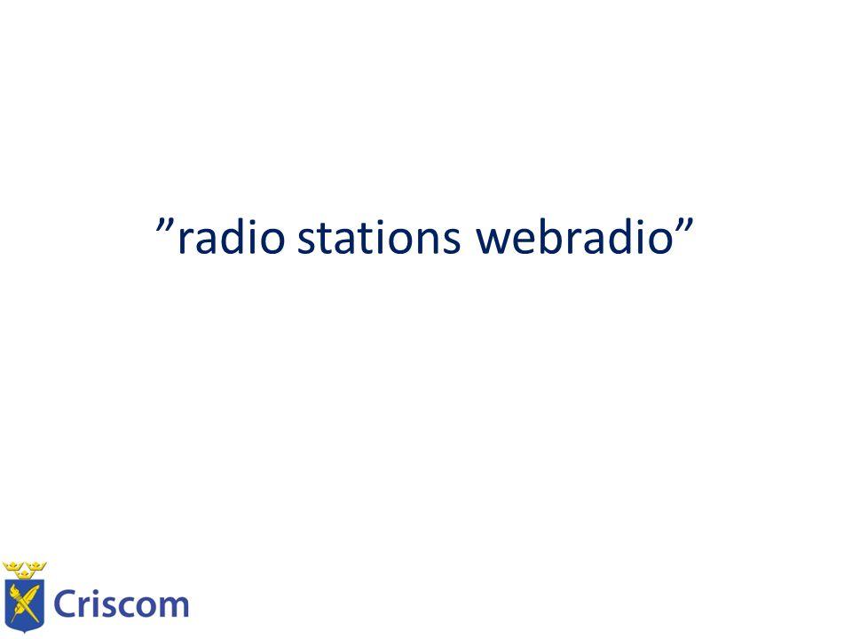 radio stations webradio