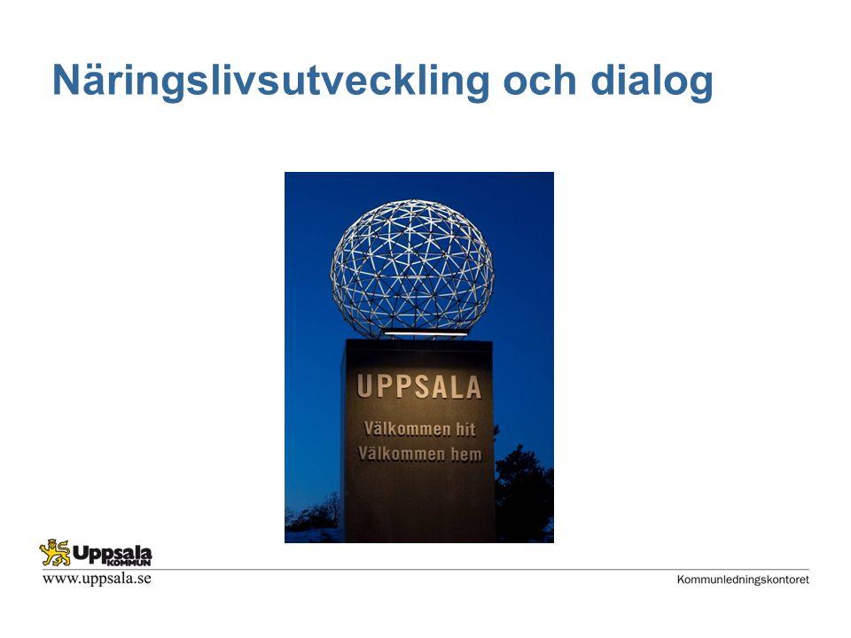 Näringslivsutveckling och dialog