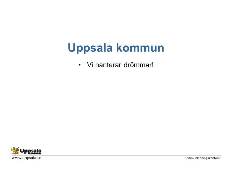 Uppsala kommun Vi hanterar drömmar!