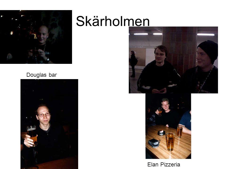 Skärholmen Startskottet gick i Skärholmen på Douglas Bar.