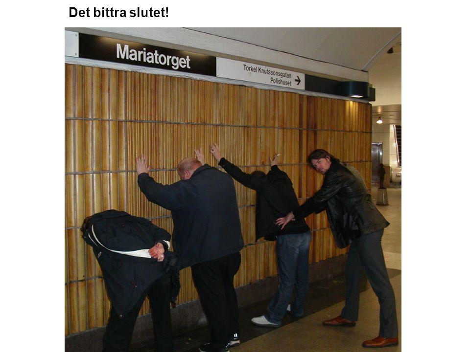 Mariatorget Vi avviker från tunnelbanefarandet och går från Zinkensdamm till Mariatorget.
