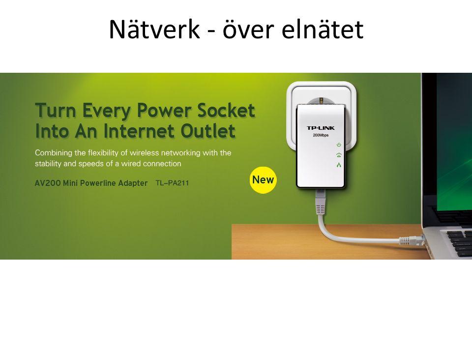 Nätverk - över elnätet