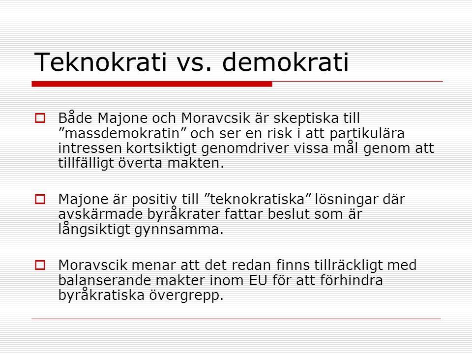 Teknokrati vs.