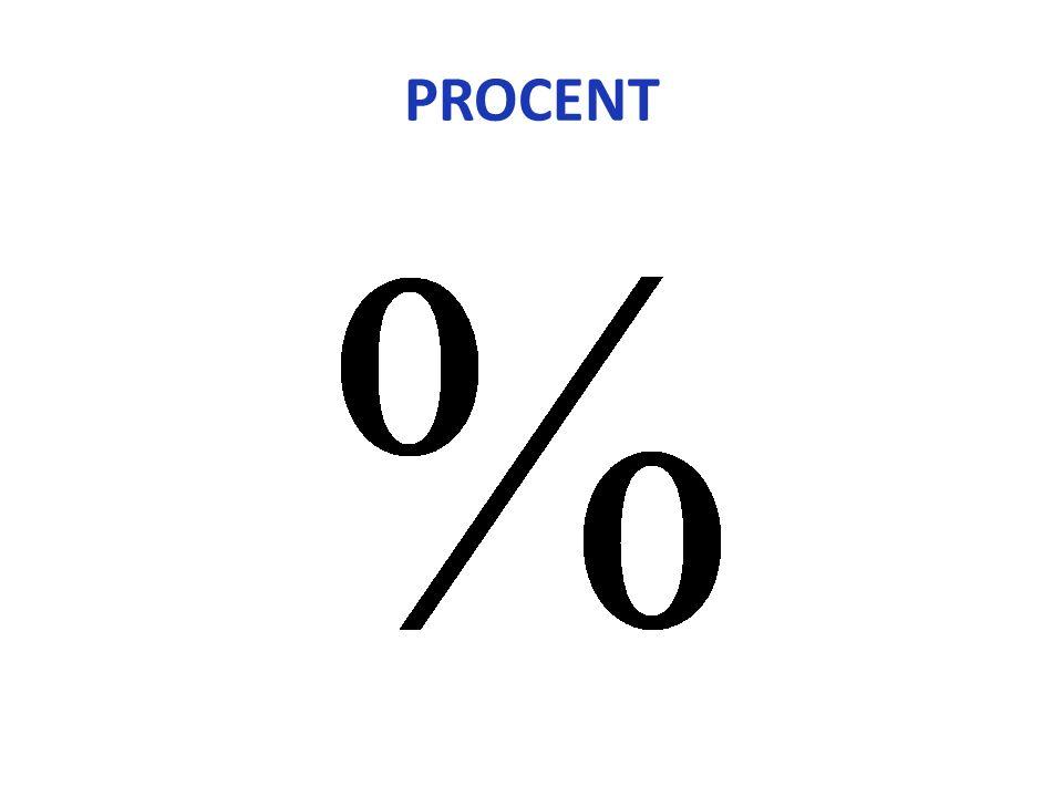 Centum betyder 100 på latin 1 Century = 1 århundrade 100 cent = 1€ Procenttecknets utveckling Centurion – Romersk officer som ledde mellan 80 – 100 man