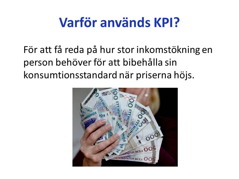 Varför används KPI.