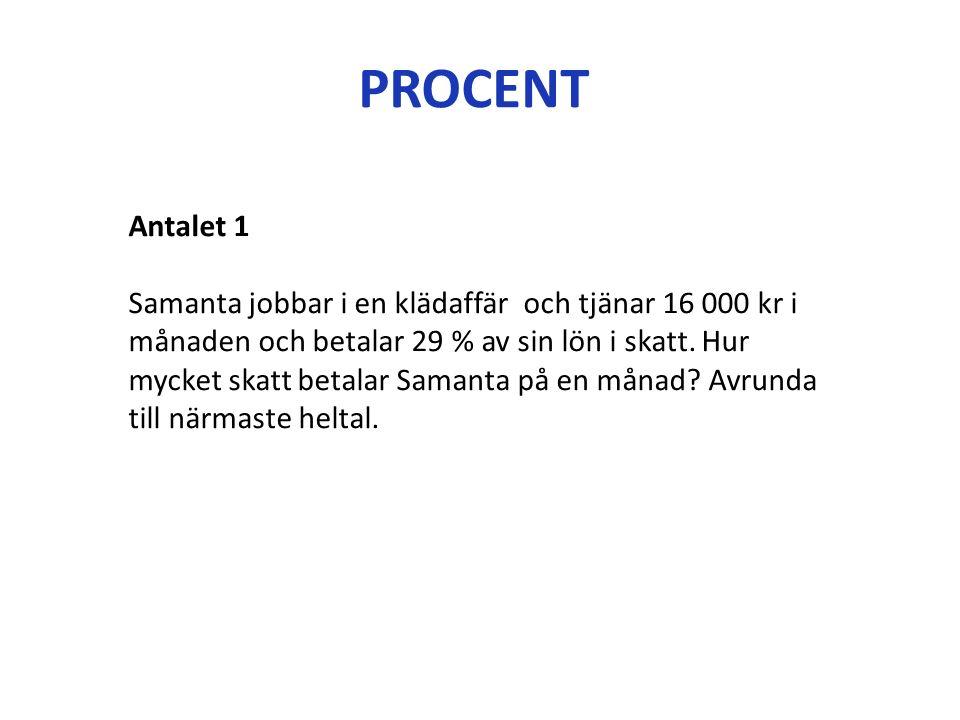 GENOMGÅNG 2.3 Ränta Lån Amortering Avgifter Index