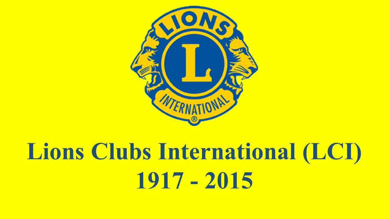 1968 - 2015 LCIF