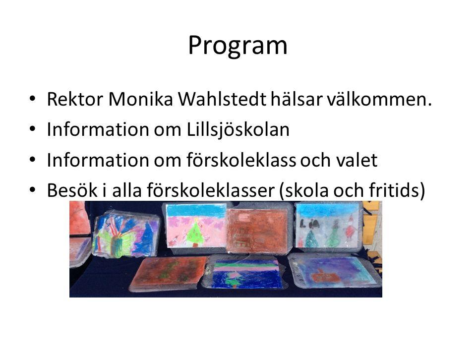 Välkommen till oss på Lillsjöskolan!