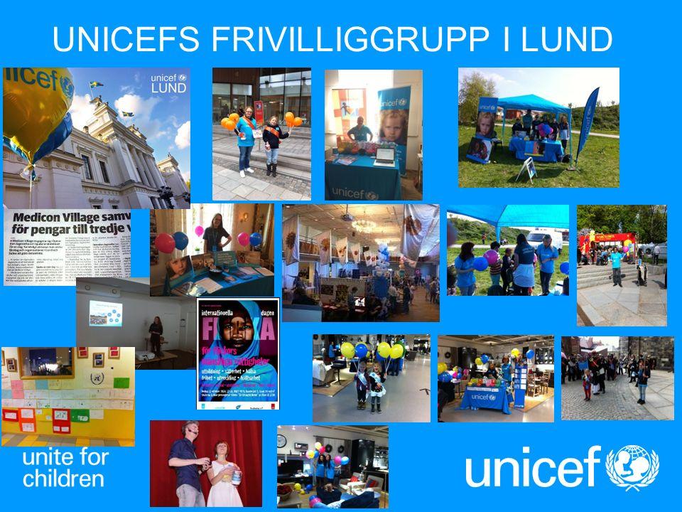 UNICEFS FRIVILLIGGRUPP I LUND