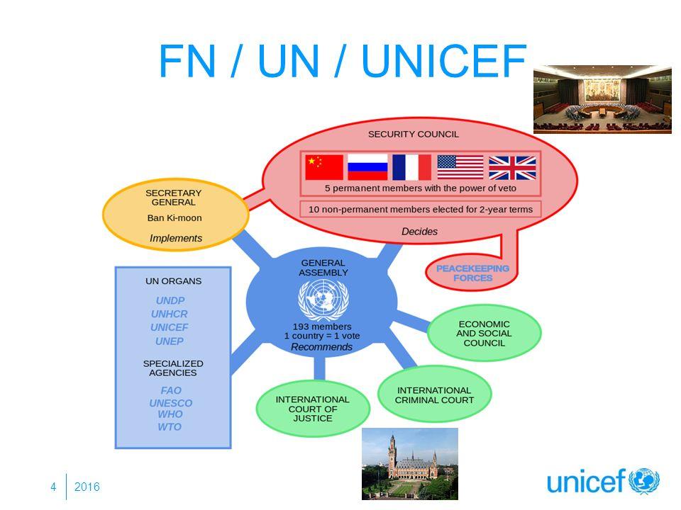 FN / UN / UNICEF 4 2016