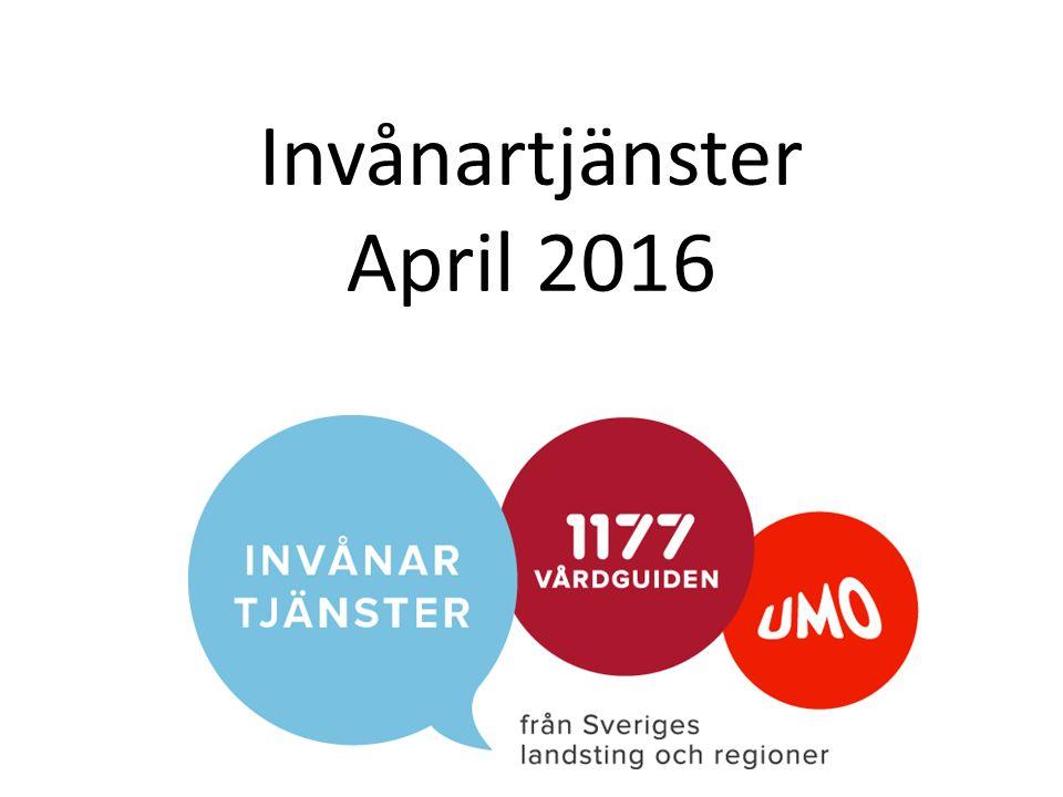 Invånartjänster April 2016