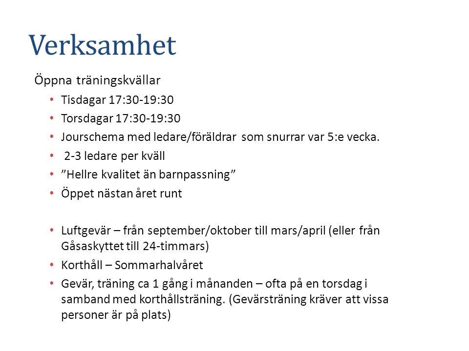 NYHET – ny klassindelning Från den 1/4 är det ny klassindelning inom svensk gevärsskytte Ny regelbok Direktiv från Riksidrottsförbundet om tävlande i unga åldrar (upp till 12 år).