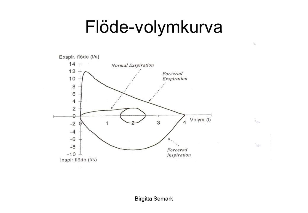 Birgitta Semark Flöde-volymkurva