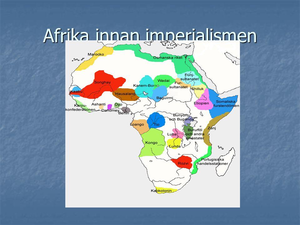 Afrika innan imperialismen