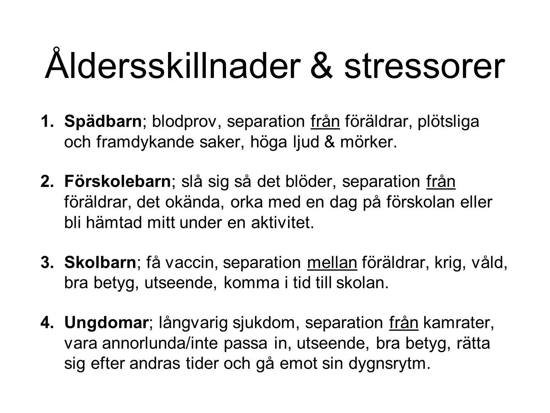 Myter om stress Stress är farligt.Man får inte ställa krav på stresskänsliga barn och ungdomar.