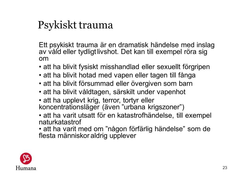 Psykiskt trauma 23