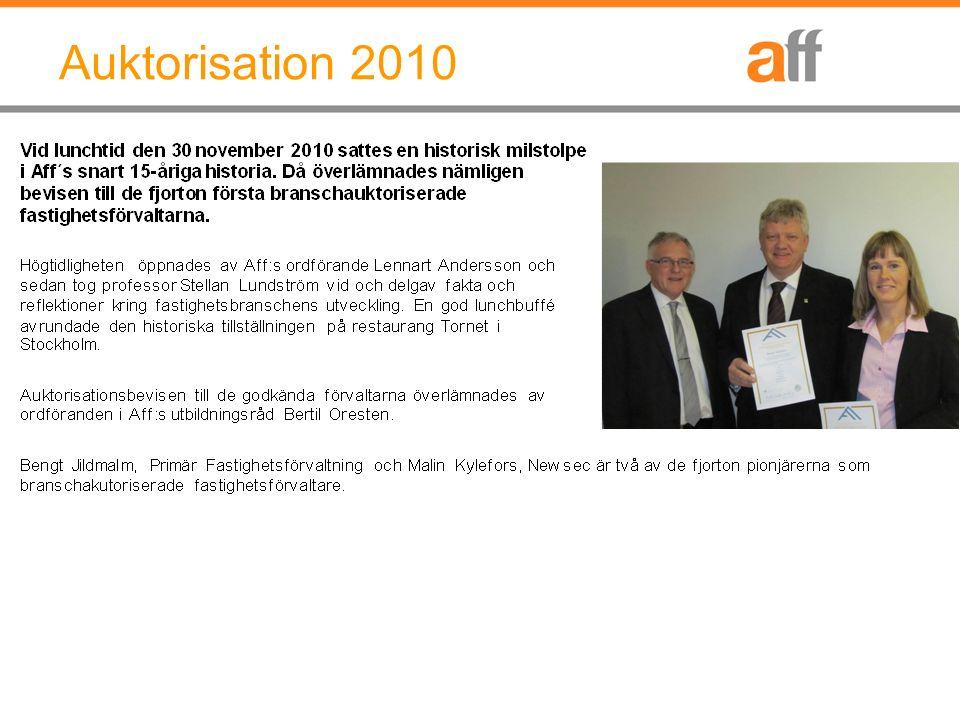 Auktorisation 2010