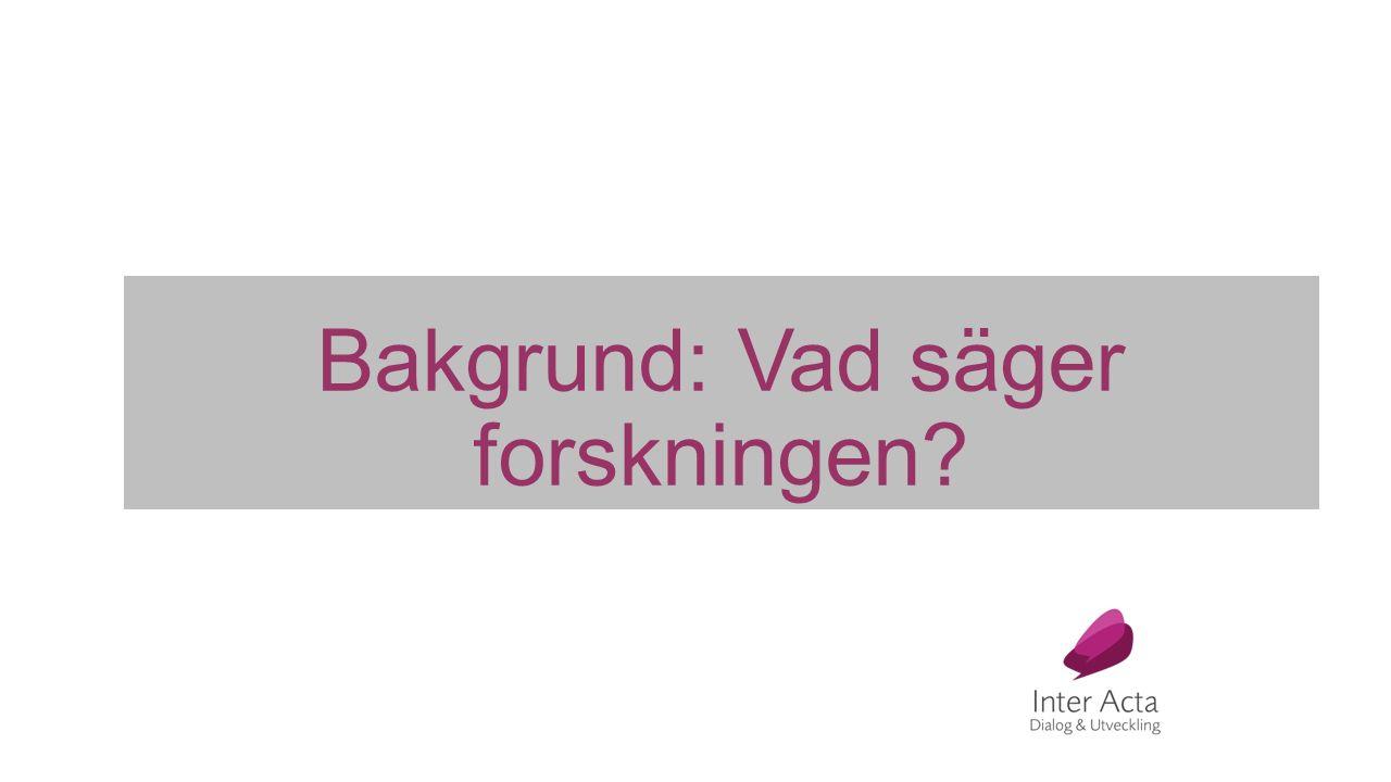 Från dialogundersökning med ungdomar i Stockholm Ungdomar lägger särskild tonvikt vid: Delaktighet, att kunna påverka, bidra och delta Digitala medier Datorer och surfplattor att låna Biblioteket som mötesplats Ungdomars upplevelse av bemötande: Man känner sig inte välkommen, man är i vägen och stör Personalen känns inte tillgänglig, ser upptagen ut och man vågar inte be om hjälp
