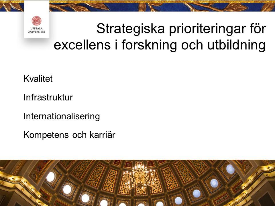 Kompetensförsörjning vid Uppsala universitet Ett sytematiskt och kontinuerligt arbete i syfte att säkerställa att rätt kompetens finns för att nå verksamhetens mål och arbetet med att tillgodose dessa behov på kort och lång sikt